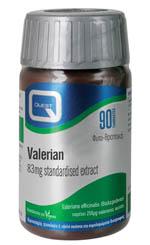 Quest Valerian Extract 83 Mg Βελτιώνει Την Ποιότητα Του Ύπνου 90 Tabs