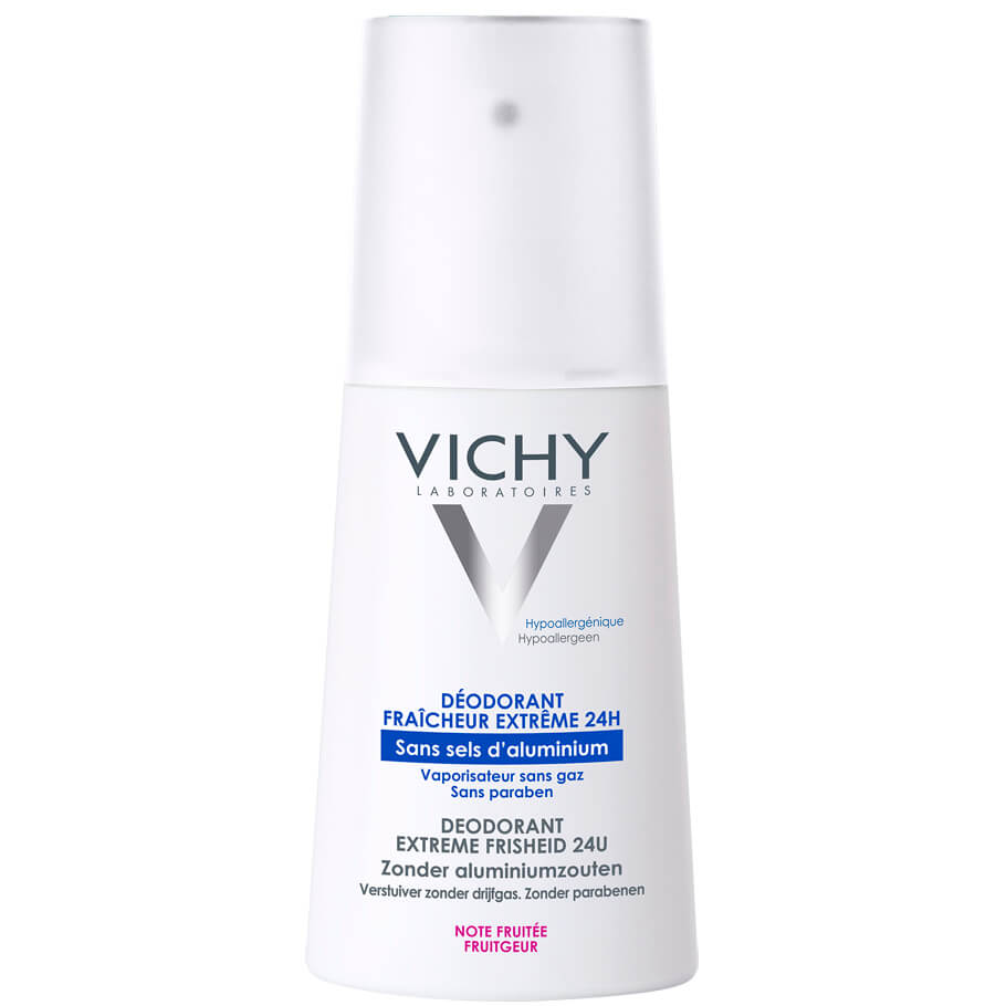 Deodorant Fresh VaporisaTeur 100ml – Vichy,Αποσμητικό Spray για Απόλυτη Φρεσκάδα με Άρωμα Φρούτων