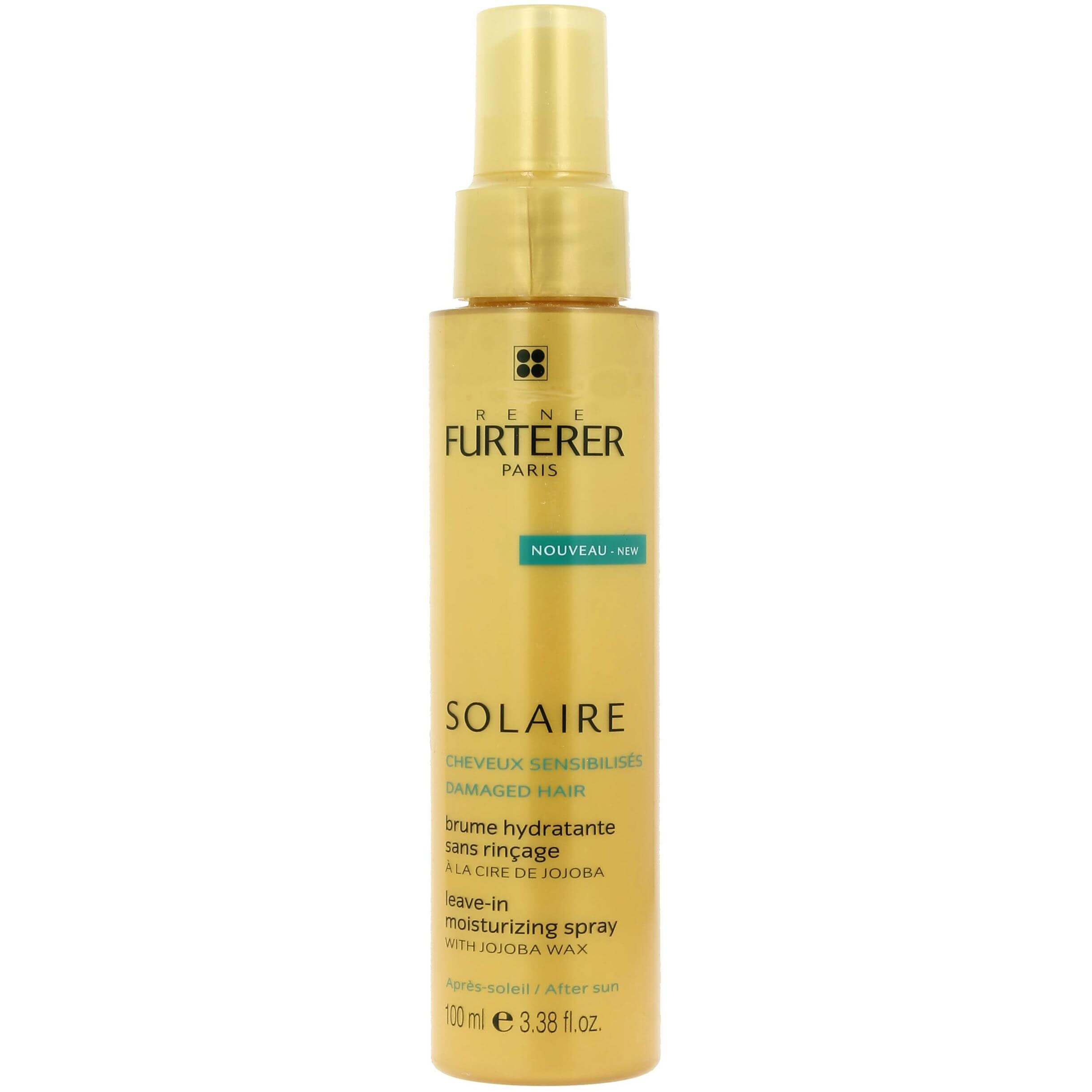 Rene Furterer Solaire After Sun Leave-In Moisturizing Spray with Jojoba 100ml