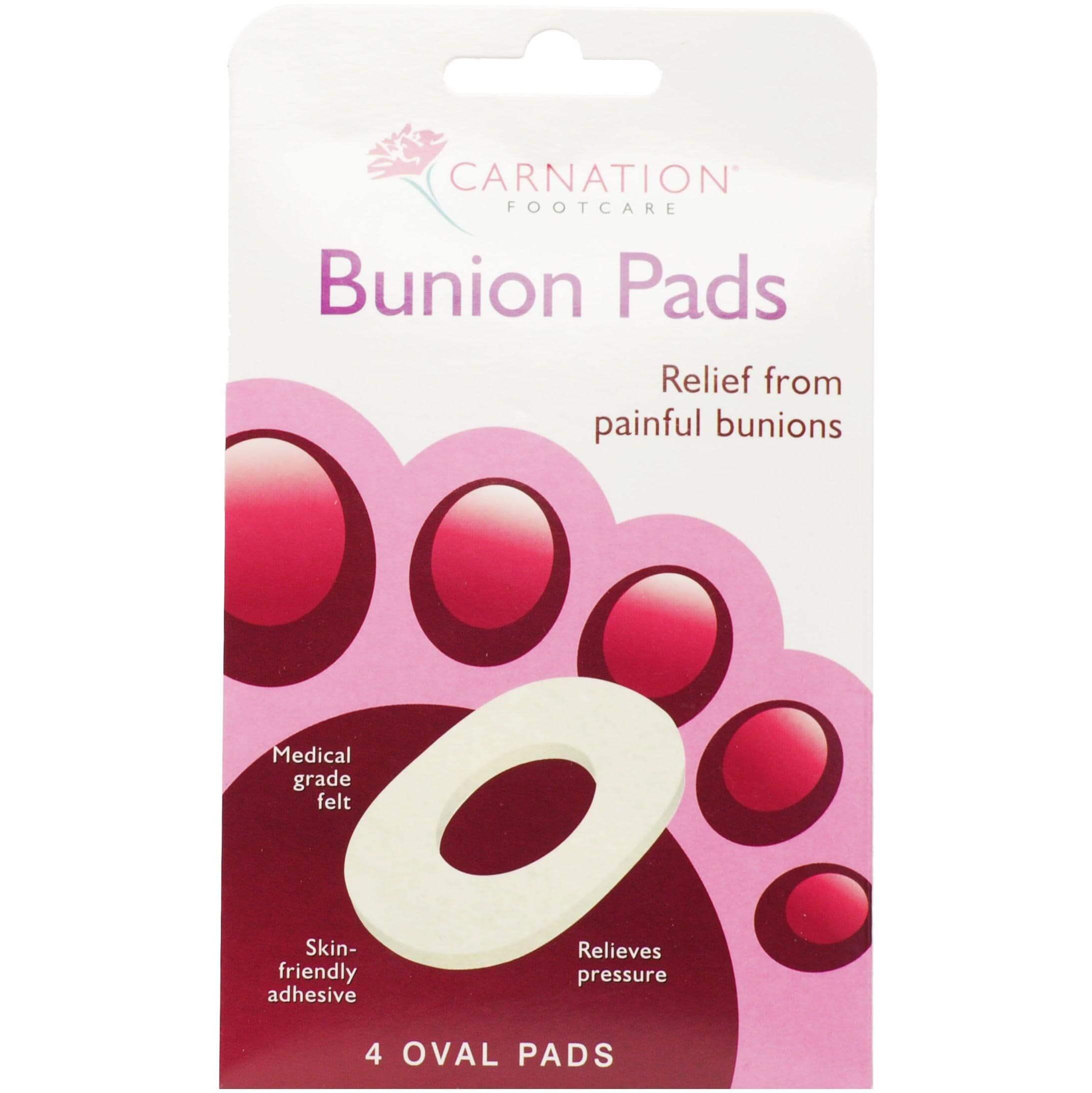 Vican Carnation Bunion Pads Αυτοκόλλητα Προστατευτικά για τα Δάκτυλα των Ποδιών (Κότσι) 4τμχ