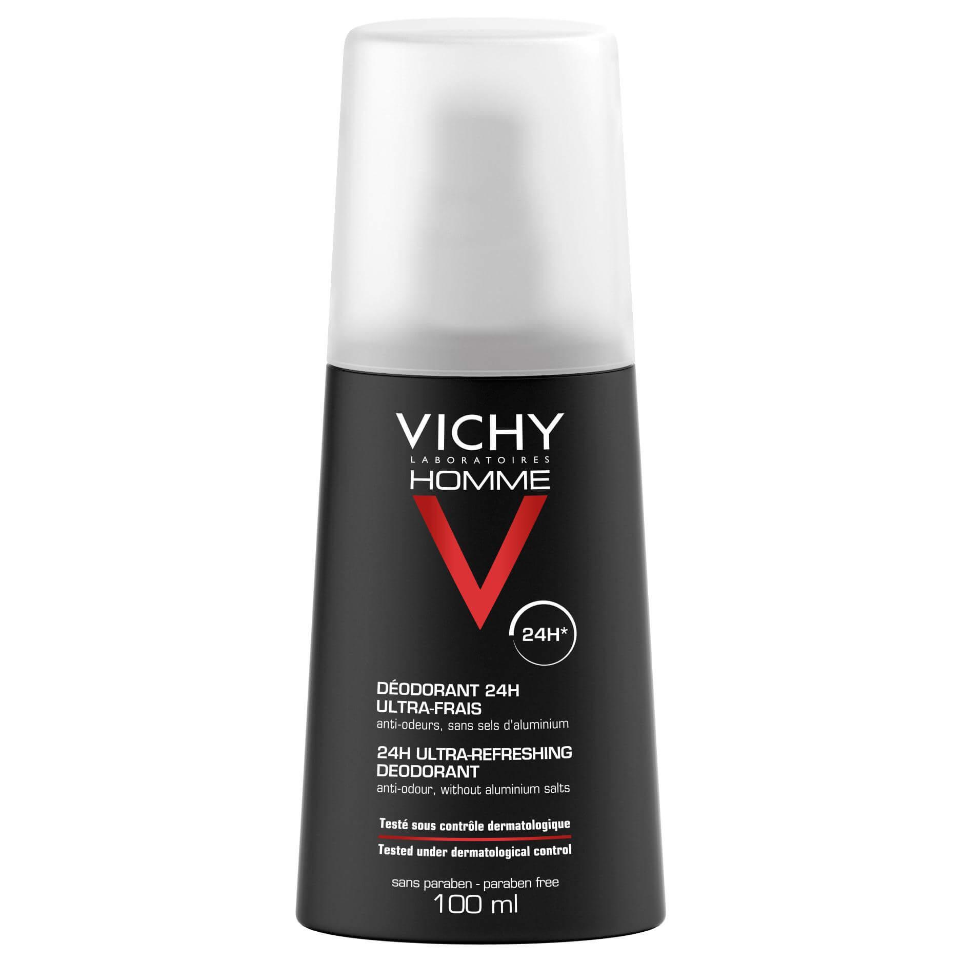 Vichy Homme Deodorant Ultra Frais Vaporisateur για τον Άντρα Σε Μορφή Spray 100ml