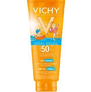 Vichy Ideal Soleil Αντηλιακό Γαλάκτωμα για Παιδικές Επιδερμίδες Spf50 για Πρόσωπο και Σώμα 300ml