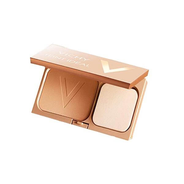 Vichy Teint Ideal Illuminating Foundation Powder Compact 9,5gr – 02 Medium-Honey