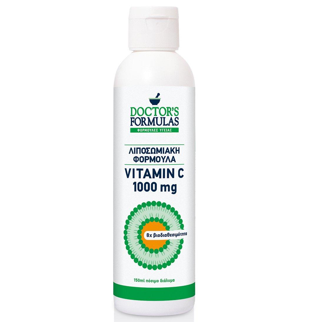 Doctor's Formulas Λιποσωμιακή Vitamin Φορμουλα Αντιοξείδωσης και Ανοσοποιητικού C 1000 mg 150 ml
