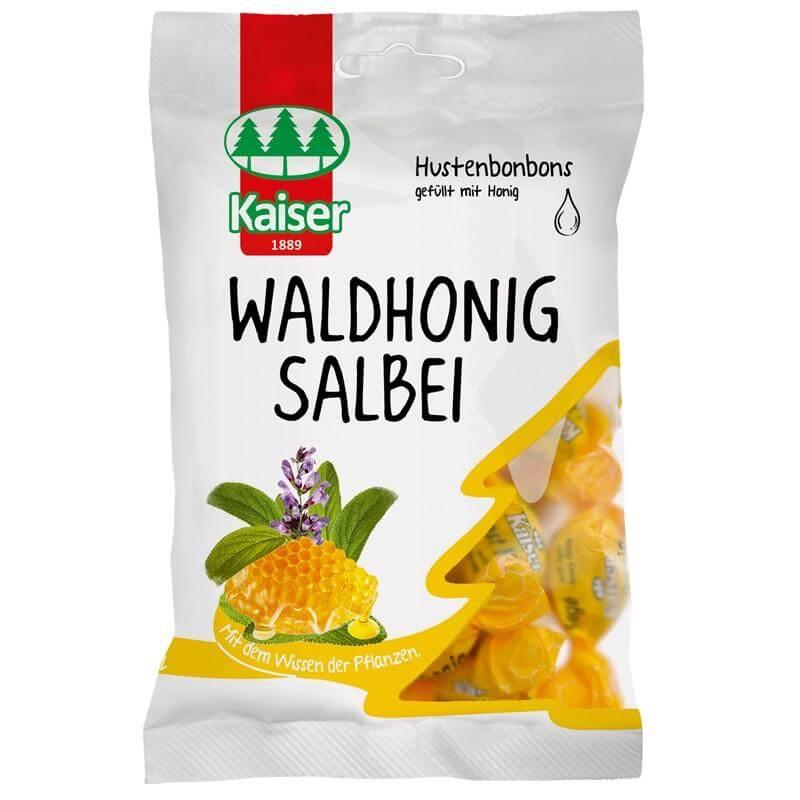 Kaiser Waldhonig Salbei Καραμέλες Με Φασκόμηλο Και Γέμιση Απο Μέλι Του Δάσους 75γρ
