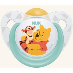 Nuk Trendline Disney Winnie the Pooh Πιπίλα Καουτσούκ – Μέγεθος 2 (6-18 μηνών)