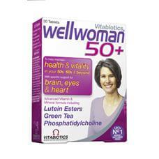 Vitabiotics Wellwoman 50+ Ειδικά Σχεδιασμένη Για Γυναίκες Άνω Των 50 Ετών 30tabs
