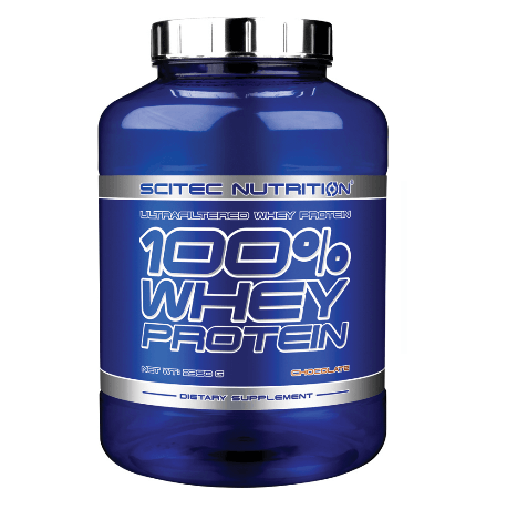 Scitec Nutrition Πρωτεΐνη 100% Whey Protein 2350 gr – Peanut butter