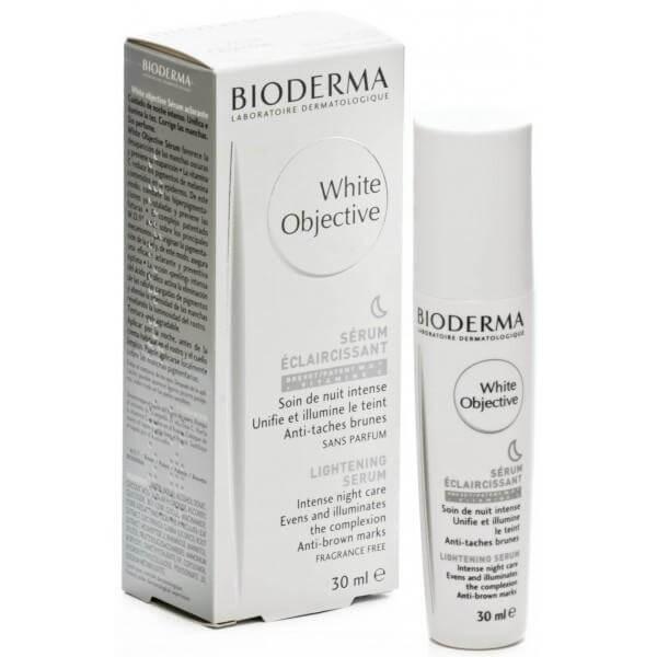 Bioderma White Objective Serum Νύχτας – Φωτίζει, Εξομαλύνει και Δίνει Λάμψη στην Επιδερμίδα 30ml