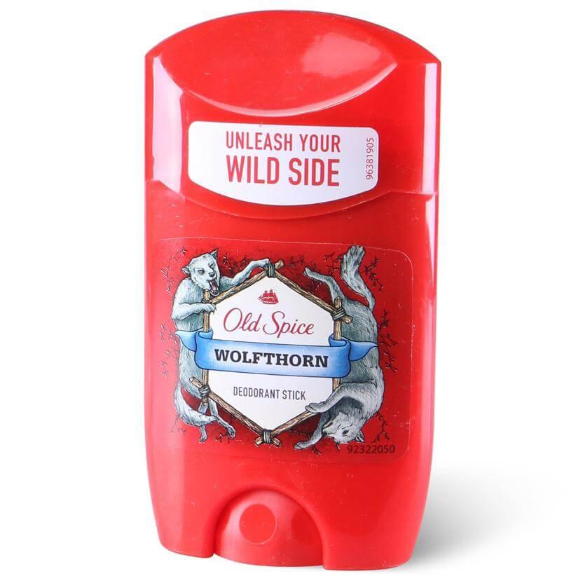 Old Spice Deo Stick Wolfthorn Αποσμητικό με Χαρακτηριστικό Αρρενωπό Άρωμα για Άνδρες 50ml