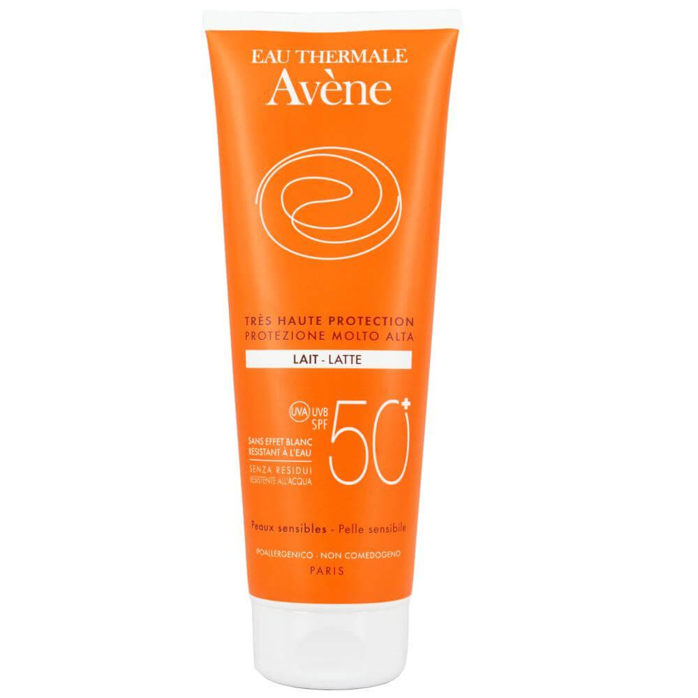 Avene Very High Protection Lait Spf50+ Πολύ Υψηλή Αντηλιακή Προστασία σε Γαλάκτωμα της Ευαίσθητης Επιδερμίδας του Σώματος 250ml
