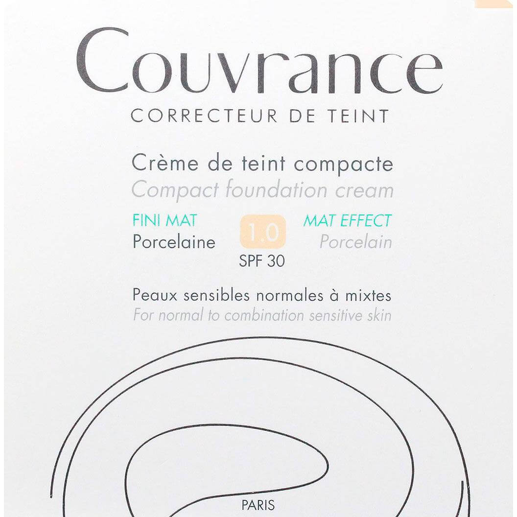 Avene Couvrance Make Up Spf30 Fini Μat Make Up σε Μορφή Κρέμας 10gr – Soleil (05)