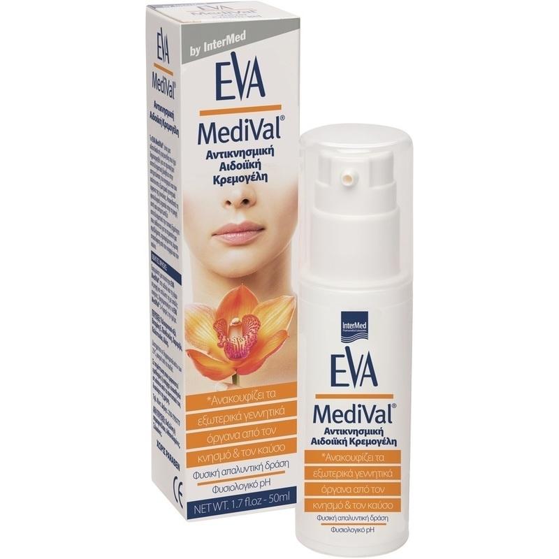 Eva Medival Αιδοιϊκή Αντικνησμική Κρεμογέλη 50ml