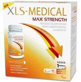 Xls Medical Max Strength Φόρμουλα για τον Έλεγχο του Σωματικού Βάρους 40caps