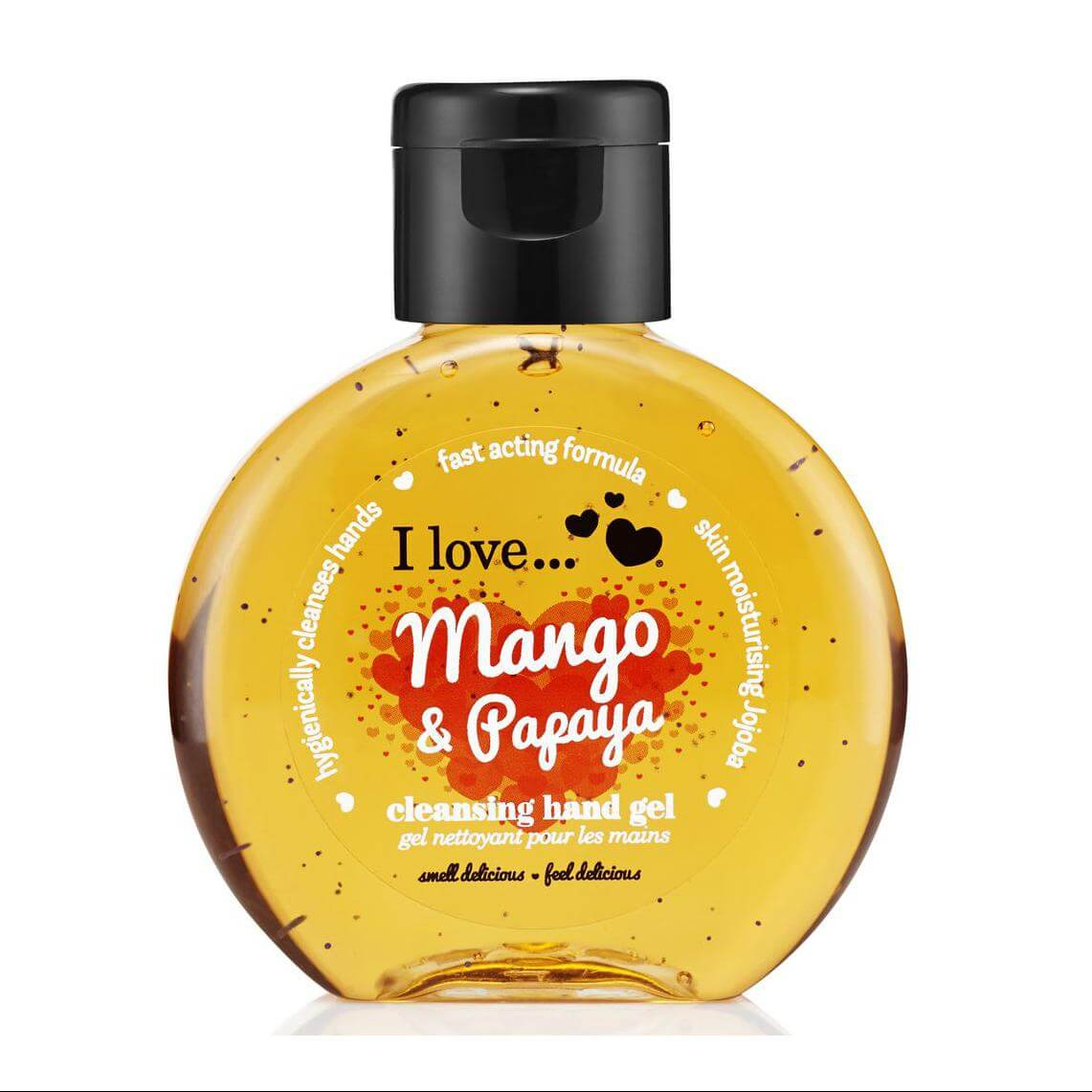 I love… Cleansing Hand Gel Απολυμαντικό Χεριών 65ml – Mango & Papaya