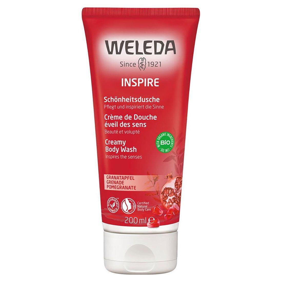 Weleda Creamy Body Wash Ήπιο Κρεμοντούς με Αισθησιακό Άρωμα Ρόδι 200ml