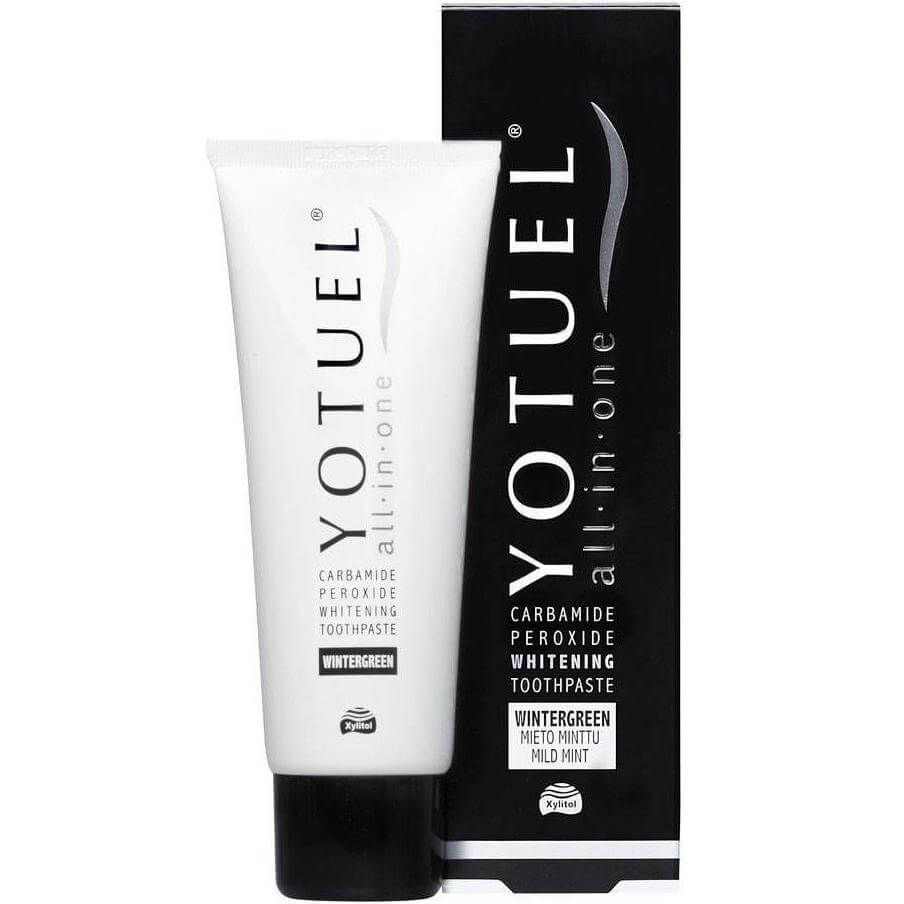 Yotuel Carbamide Peroxide Whitening Toothpaste All in One Winter Green Οδοντόκρεμα για Λεύκανση & Αναμετάλλωση του Σμάλτου 75ml