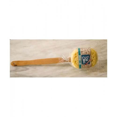 Vitorgan Top Care Sponge Line Σφουγγάρι Πλάτης Με Ξύλινη Λαβή 751